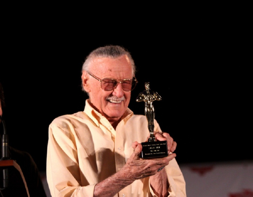 Comics Legend and Father of Modern Mythology, Stan Lee at Phoenix Comicon by Gage Lee on Flickr.