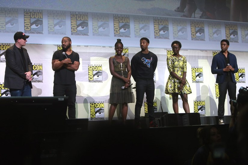 Black Panther Actors- Photo By: Gage Skidmore