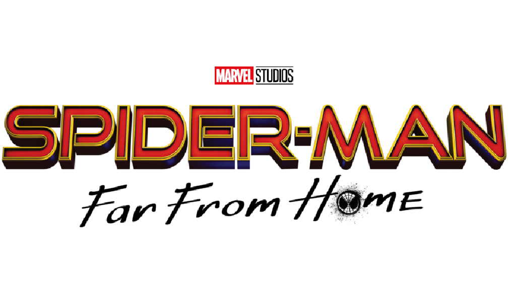 Spider-Man: Far From Home Logo -Taken from: https://commons.wikimedia.org/wiki/File:Logo_Spider-Man_Far_From_Home.png